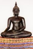 Black of Bhudda Royalty Free Stock Photography