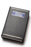 Black Bible book Stock Photos