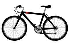 Black bike. Creative design of black bike Royalty Free Stock Photography