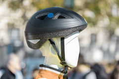 Bike cycling helmet Royalty Free Stock Photography