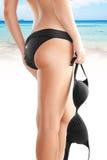 Black bikini Stock Image