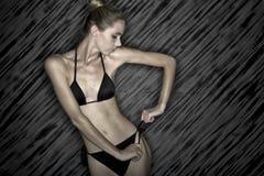 Black bikini. Stock Image