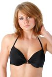 Black bikini fashion Royalty Free Stock Image