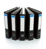 Black binder Stock Photo