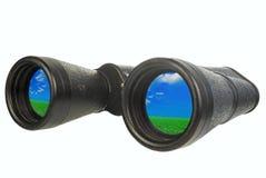 Black binoculars Royalty Free Stock Photography