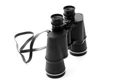 Black Binoculars Royalty Free Stock Photo