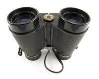 Black Binoculars Stock Photo