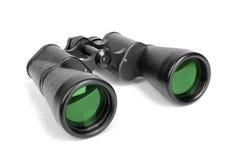 Black binoculars. Royalty Free Stock Image