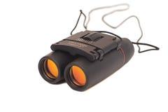 Black binoculars Royalty Free Stock Images
