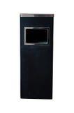 Black bins Stock Image
