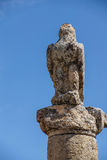 Black bird, eagle statue Stock Photography
