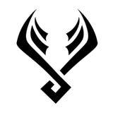 Black Bird Icon Stock Images