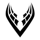 Black Bird Icon Royalty Free Stock Image