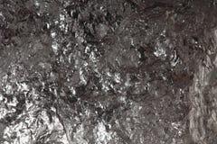 Black bituminous coal, carbon nugget background Stock Photography