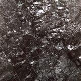 Black bituminous coal, carbon nugget background Stock Image