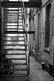Black, Black And White, Alley, Infrastructure stock photos