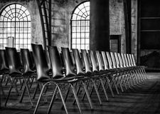 Black, Black And White, Monochrome Photography, Chair Royalty Free Stock Photography