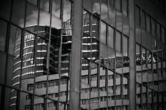 Black, Black And White, Structure, Building Stock Photo