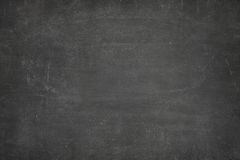 Black blank blackboard Stock Photo