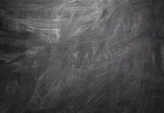 Black Blank Chalkboard Background Stock Photography