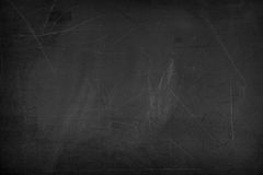Black blank chalkboard for background Stock Images