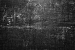Black blank chalkboard for background Royalty Free Stock Images