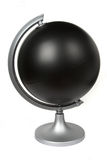 Black blank globe Royalty Free Stock Photo