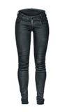 Black blank jeans Stock Image