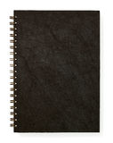 Black Blank Note Book Stock Photos