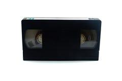 Black Blank VDO Tape Stock Photo