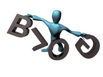 Free Black Blog Royalty Free Stock Photography - 8692097