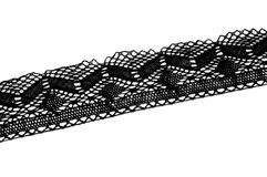Black blonde lace Stock Images