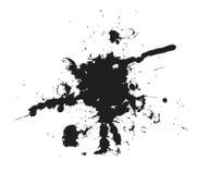 Black blot Stock Image