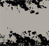 black blotfärgpulver Royaltyfri Bild