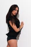 Black blouse Royalty Free Stock Photos