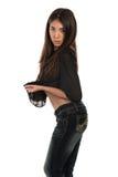 Black blouse Royalty Free Stock Image