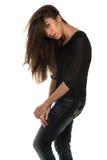 Black blouse Stock Image