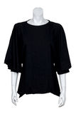 Black blouse Stock Photo