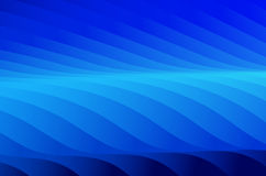 Black and blue Abstract Background. Black adn blue abstract background with curvy stripes of color gradient Stock Illustration