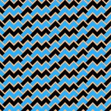 Black and blue abstract waves seamless/tileable pattern/texture. Horizontally and vertically seamless stock illustration