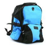 Black & Blue BackPack Stock Photography