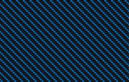 Black and blue carbon kevlar texture, composite background. Black and blue carbon kevlar texture, modern composite background Stock Images