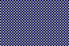 Black and blue checked pattern Stock Photo