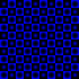 Black and blue chessboard,. Abstract geometric background Royalty Free Stock Photos