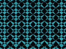 Black and blue geometric pattern Stock Images
