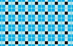 Black and blue Gingham pattern.Texture from rhombus for - plaid,tablecloths,shirts,dresses,paper,bedding,blankets,quilts and other. Textile products.Vector royalty free illustration