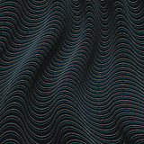 A black and blue optical illusion. Vector Illustration Royalty Free Stock Image