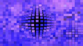 Black Blue and Purple Square Mosaic Background Vector Graphic. Beautiful elegant Illustration graphic art design stock illustration