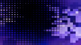 Black Blue and Purple Square Mosaic Tile Background Vector Image. Beautiful elegant Illustration graphic art design royalty free illustration