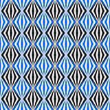 Black and blue seamless pattern Stock Photo